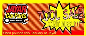 2019 JANUARY TOOL SALE - NOW ON